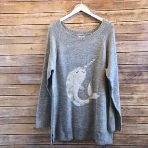 Lauren Conrad Narwhal Tunic Sweater
